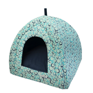 EMPORIUM DISTRIPET CAMA CASITA BUBBLE AZUL