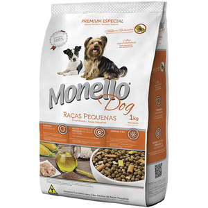 MONELLO DOG RAZAS PEQUENHAS 1KG