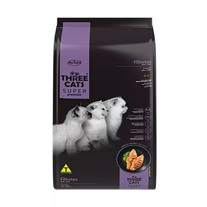 THREE CATS GATITOS FILHOTES CARNE 10,1KG