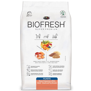 BIOFRESH DOG FILHOTE RAZAS PEQ Y MINI 1KG