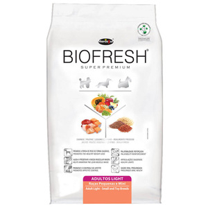 BIOFRESH DOG LIGHT RAZAS PQE Y MINI 1KG