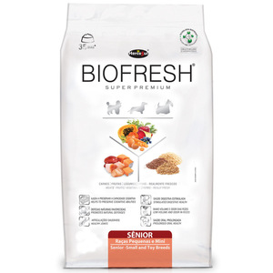 BIOFRESH DOG SENIOR RAZAS PEQ Y MINI 3KG