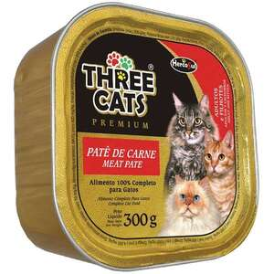 THREE CATS PATE CARNE