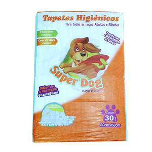 TAPETE HIGI�NICO 30 UNID. SUPER DOG