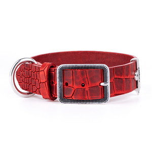 COLLAR TUCSON 1069 ROJO CROCO MY FAMILY