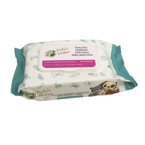 TOALLITAS HUMEDAS PATAS PET WIPES
