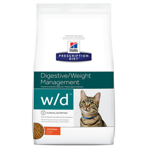 HILLS W/D CAT DIGESTIVE/WEIGHT 1,81KG