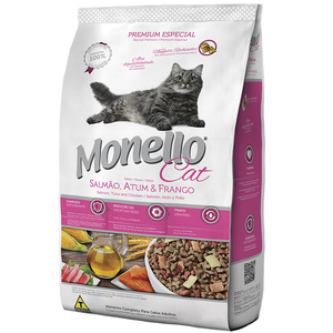 MONELLO CAT SALMAO/ATUN/FRANGO 1KG
