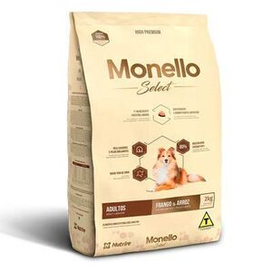 MONELLO DOG ADULTO SELECT RAZAS G. 2KG