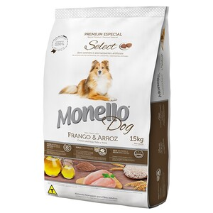 MONELLO DOG FRANCO Y ARROZ 15KG