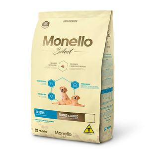 MONELLO SELECT FILHOTES FRANGO/ARROZ 2KG.