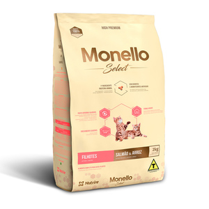 MONELLO SELECT GATITOS SALMON Y ARROZ 7KG