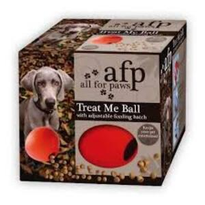 AFP-RUBBER TREAT BALL 4557